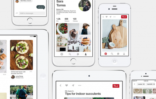 Pinterest voor de iPhone en iPad.