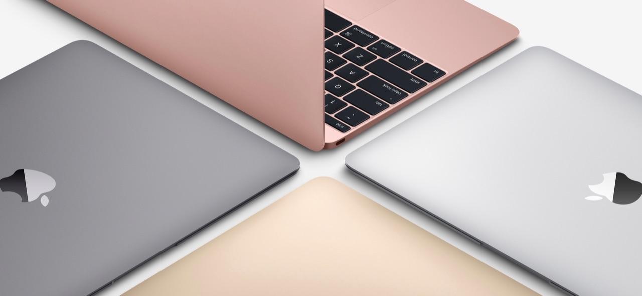 MacBook 2016 rosegoud en andere kleuren