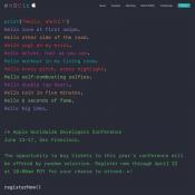Deze hints kun je aflezen uit de uitnodiging van WWDC 2016