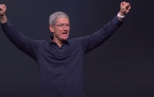 Tim Cook op WWDC 2015