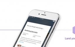 LinkedIn Students voor de iPhone helpt studenten bij het zoeken naar een baan.