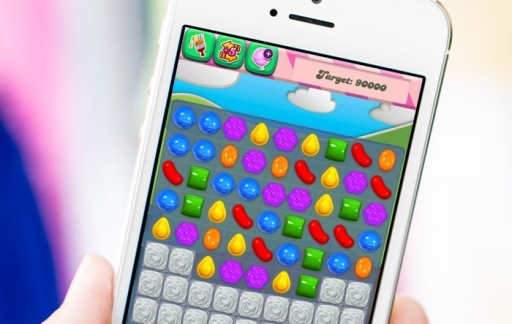 Candy Crush op iPhone