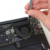 iFixit: ventilator in MacBook