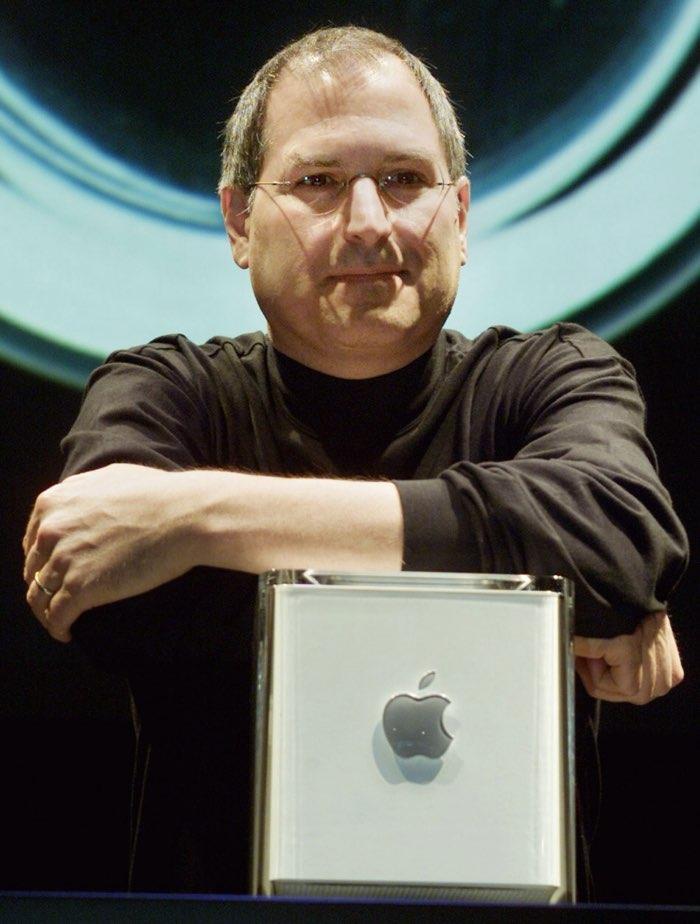 Steve Jobs met G4 Cube