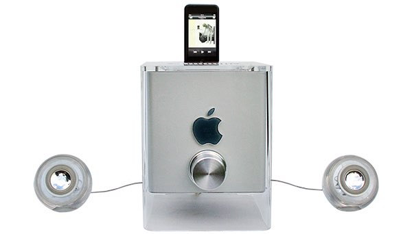 G4 Cube, omgebouwd tot speaker