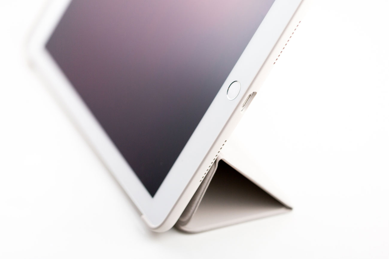 iPad Pro Smart Cover, van de zijkant gezien