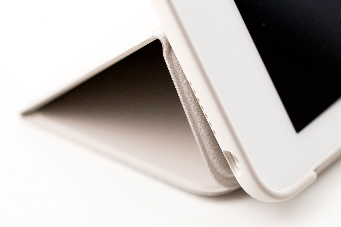 iPad Pro Smart Cover, opgerold
