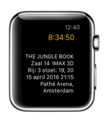 Unlimited Fans voor de Apple Watch.