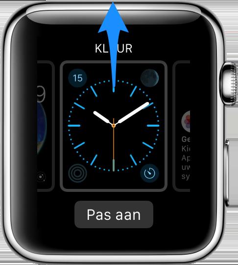 Apple Watch wijzerplaat verwijderen