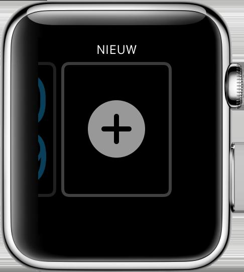 Apple Watch: nieuwe wijzerplaat maken