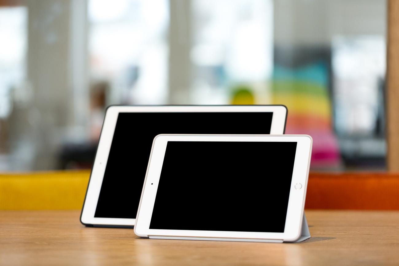iPad Pro review iCulture foto door maal4, iPad Pro klein en groot