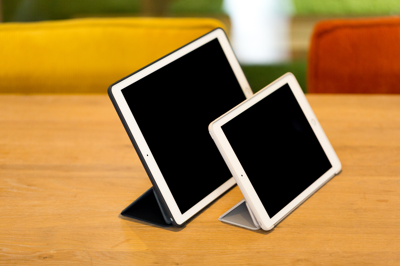 iPad Pro review iCulture, foto door Maal4, verschillen tussen 9.7 en 12.9 iPad Pro