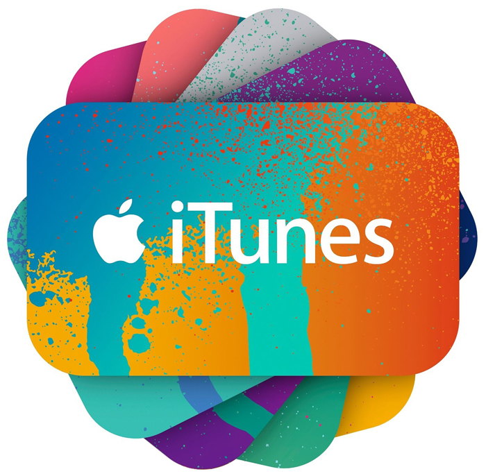 Apple iTunes giftcards