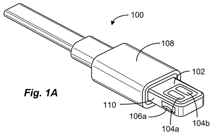 Apple patent voor omkeerbare connector