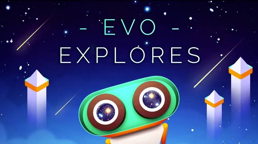 Evo Explores voor de iPhone en iPad is geïnspireerd op Monument Valley.