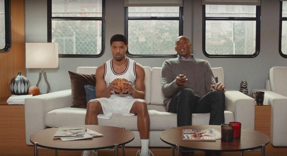 Kobe Bryant Apple TV-reclamespot Father Time
