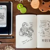 Moleskine: notitieboekje