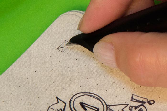 Moleskine: digitale schrijfset