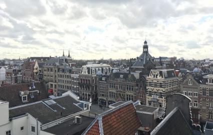 iCulture demo iPhone SE camera: stadsbeeld met felle lucht