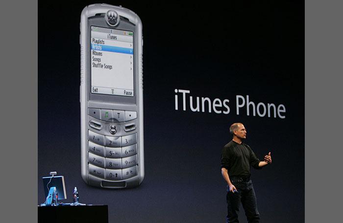 Motorola Rokr telefoon