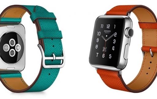 Apple Watch Hermes Simple Tour in meerdere kleuren.