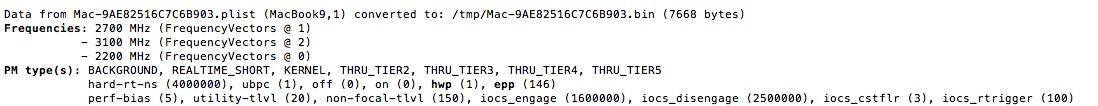 Nieuwe MacBook gevonden in code.