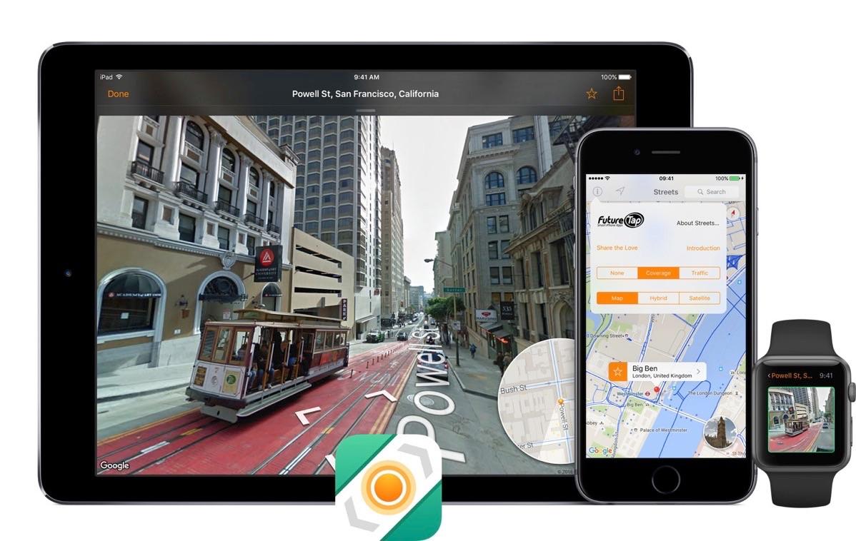 Streets 3 voor de iPhone, iPad en Apple Watch.