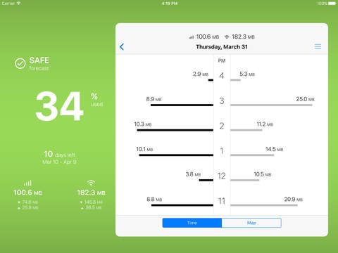 DataMan Pro voor de iPad.