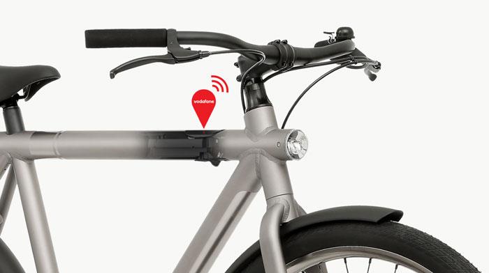 VanMoof fiets met Vodafone simkaart
