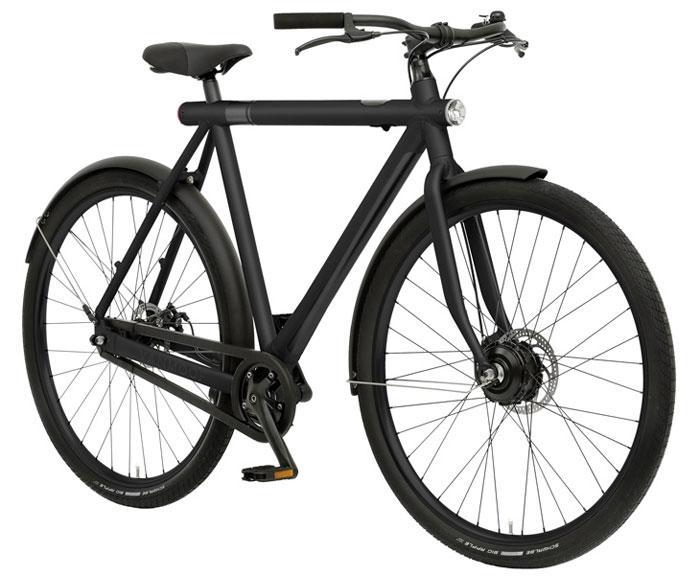 VanMoof fiets in zwart