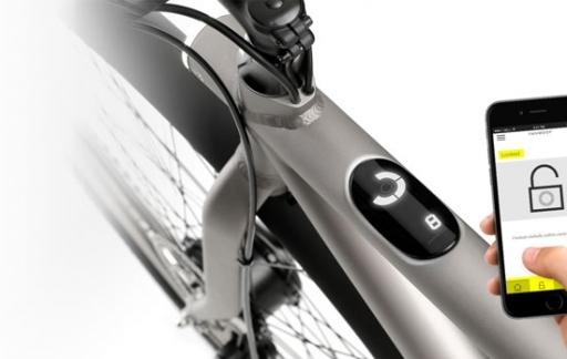 VanMoof fiets met app