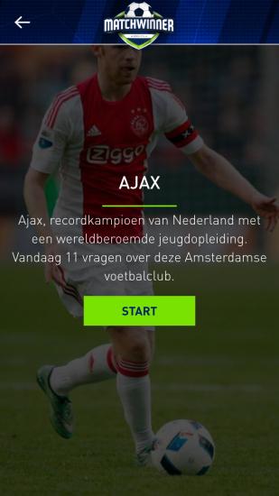 Matchwinner met vragen over Ajax.