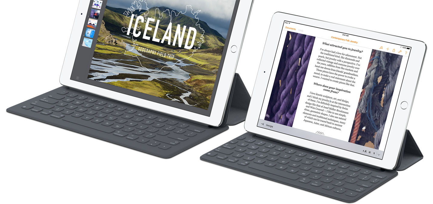 Smart Keyboards voor iPad Pro