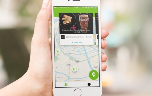 Prise prijsvergelijker op de iPhone is voormalige Subway-app.