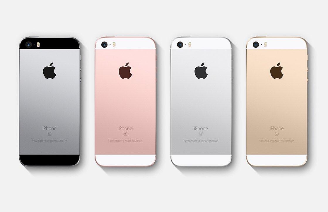 iPhone SE rijtje