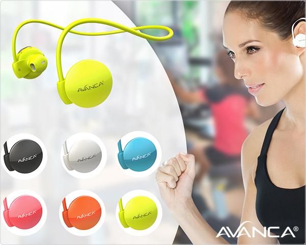 Avanca S1 Bluetooth Sportheadset bij 1DayFly.