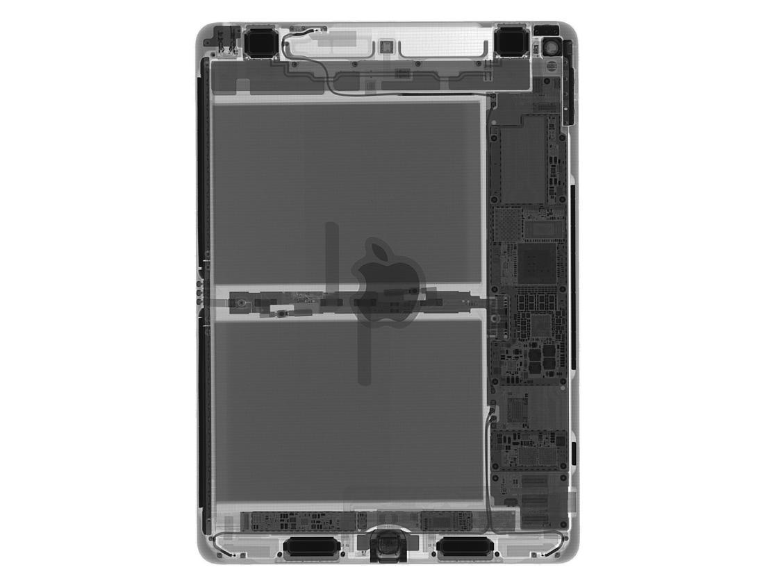 X-ray van 9,7-inch iPad Pro.