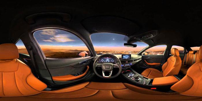 Audi 360 graden experience