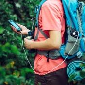 iPhone wandelen met navigatie