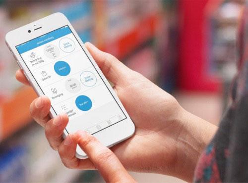ThuisMeten app op iPhone