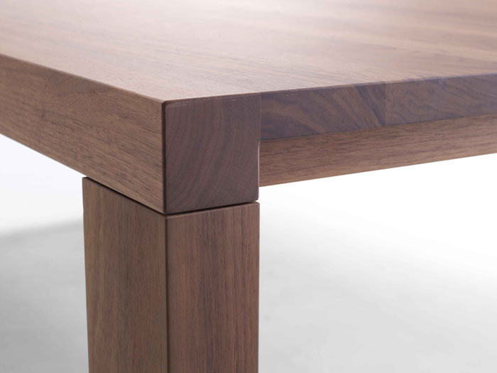 Arco Essenza-tafel: detail