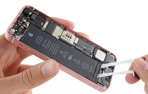 iFixit teardown iPhone SE toont grotere batterij