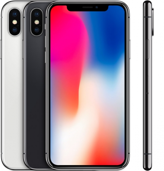 iPhone X in kleuren.