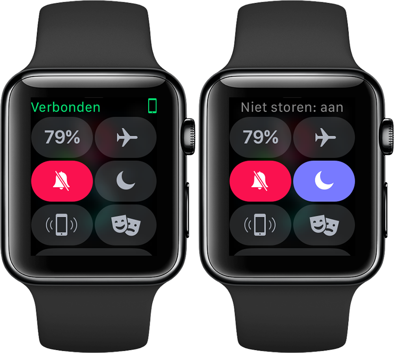 Apple Watch Niet Storen