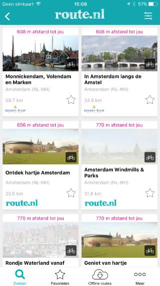 Route.nl routes in de buurt