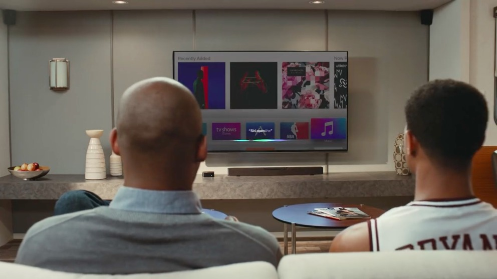 Kobe Bryant met Apple TV reclame