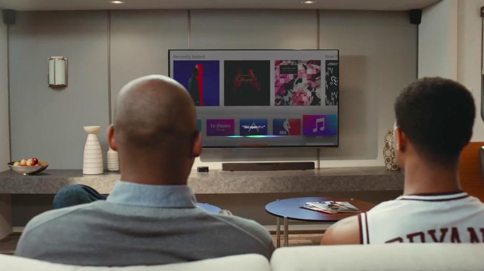 Kobe Bryant met Apple TV reclame