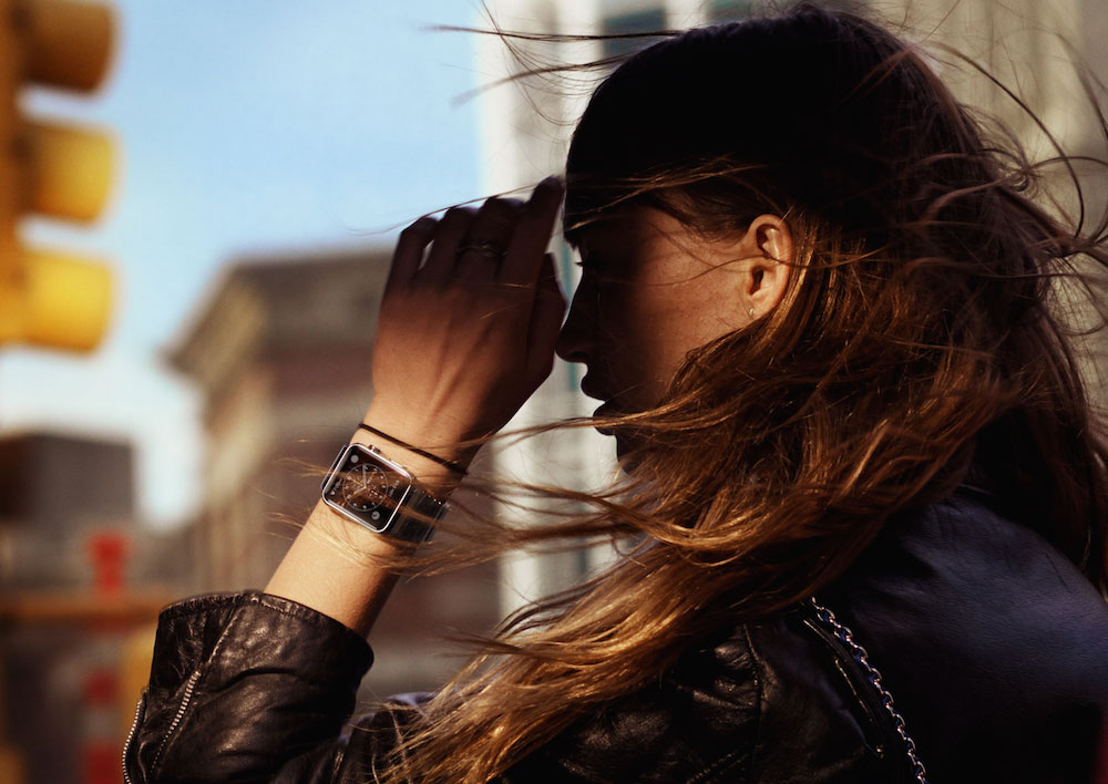 Apple Watch jonge vrouw