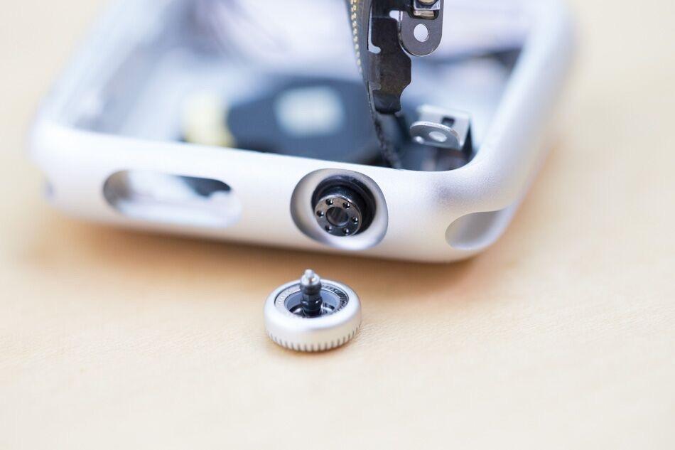 Apple Watch-onderdelen van het echte model