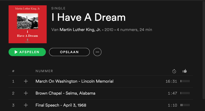 spotify-martin-luther-king